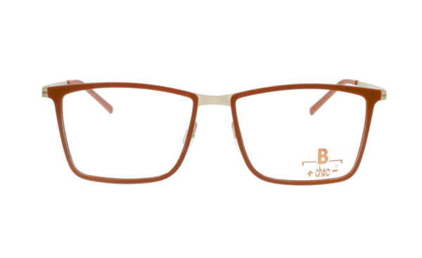 Brille +choc- C489 orange matt | Brillenmann