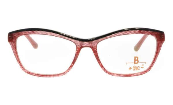 Brille +choc- C524 rot marmoriert augenrand oben schwarz |Brillenmann