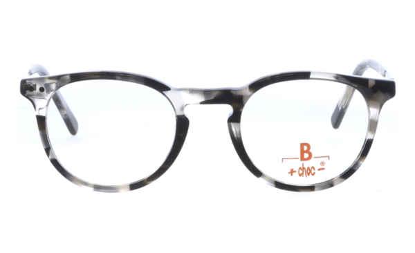 Brille +choc- C534 grau gemustert glänzend  Brillenmann