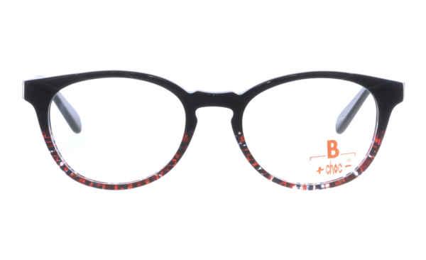 Brille +choc- C571 oben schwarz gefräst