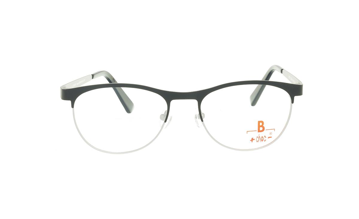 Brille +choc- C574 oben schwarz/unten grau matt |Brillenmann
