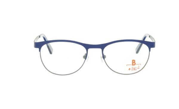 Brille +choc- C574 oben dunkelblau/unten grau matt |Brillenmann