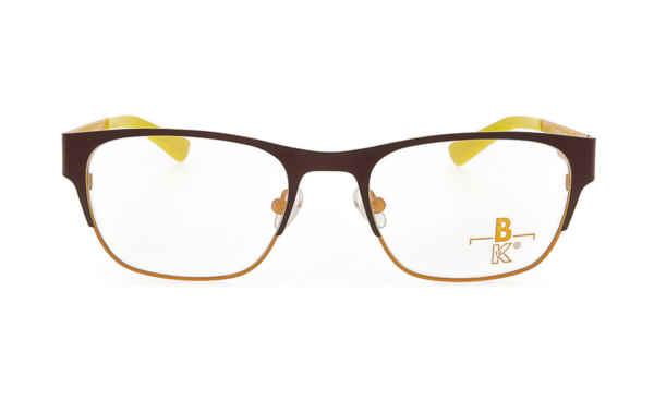 Brille K16 K1292 oben rotbraun glänzend