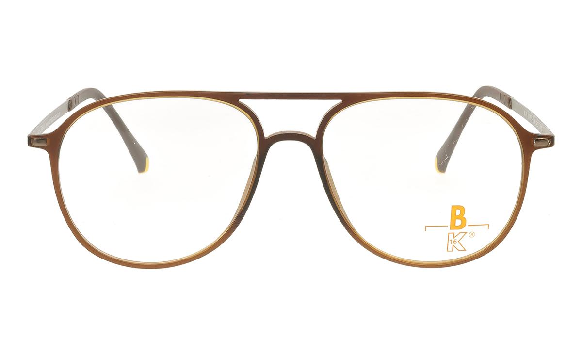 Brille K16 K1375 braun matt |Brillenmann