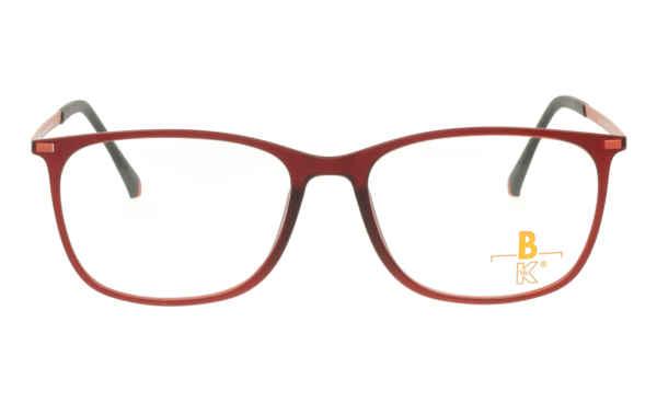 Brille K16 K1376 rot matt  Brillenmann