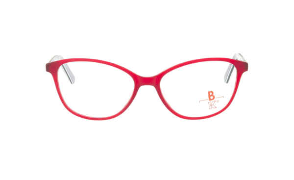 Brille K16 K1404 rot kristall matt |Brillenmann