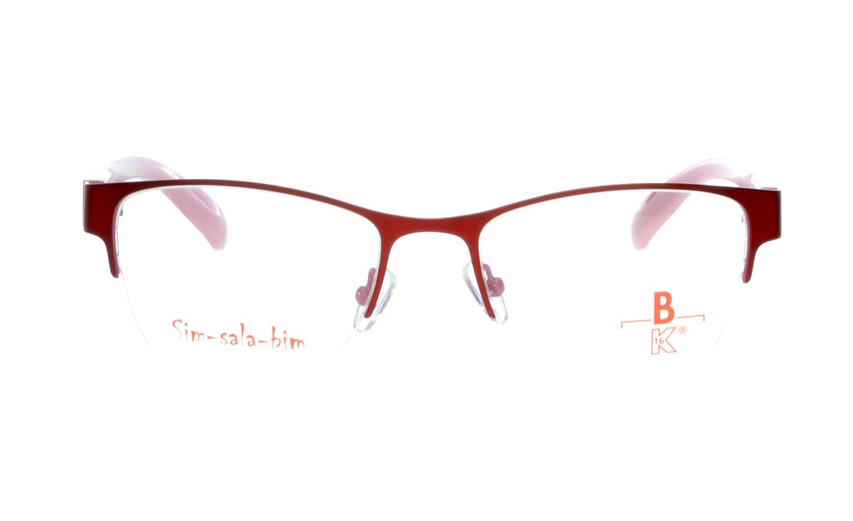 Brille Sim-sala-bim K7F021 dunkelrot matt |Brillenmann