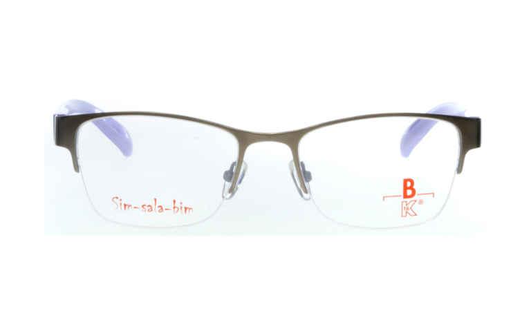 Brille Sim-sala-bim K7F021 silber matt |Brillenmann