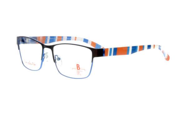 unten blau matt |Brillenmann