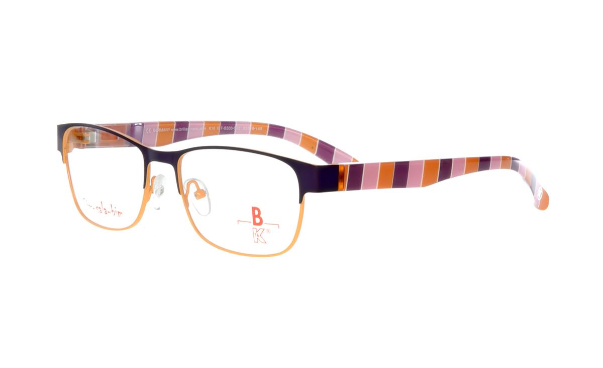 unten orange matt |Brillenmann
