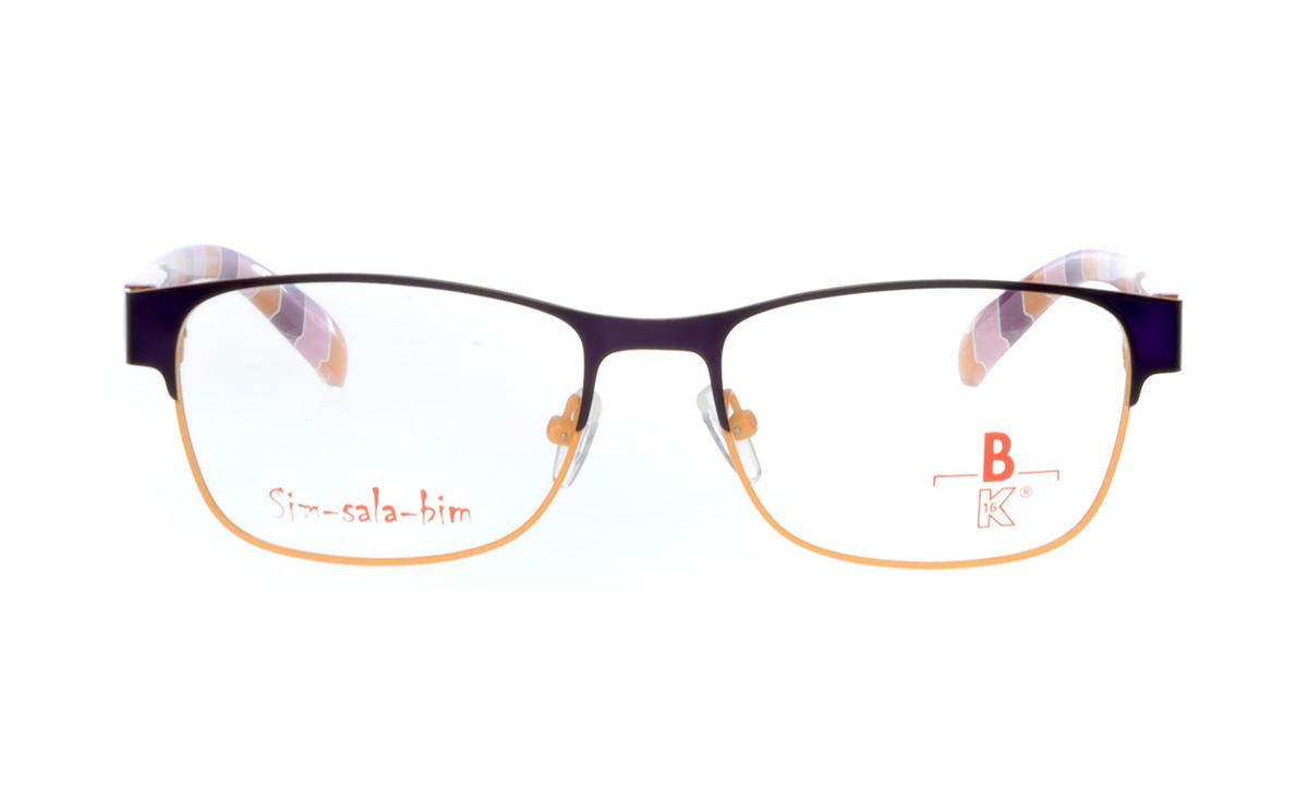 Brille Sim-sala-bim K7F023 oben lila
