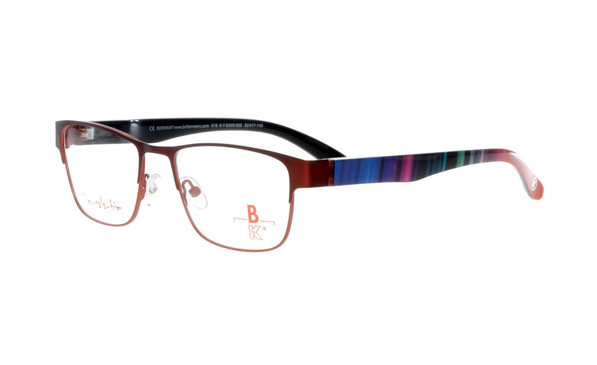 unten rot matt |Brillenmann