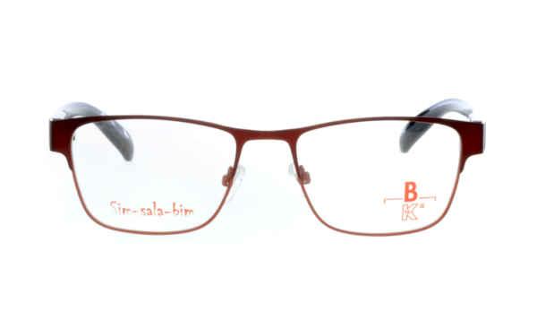Brille Sim-sala-bim K7F024 oben dunkelrot