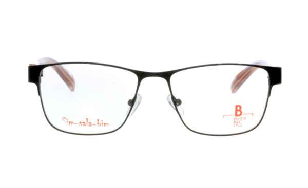 Brille Sim-sala-bim K7F028 schwarz matt |Brillenmann