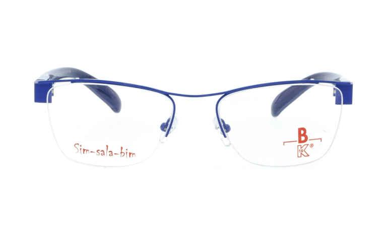 Brille Sim-sala-bim K7F033 blau glänzend |Brillenmann
