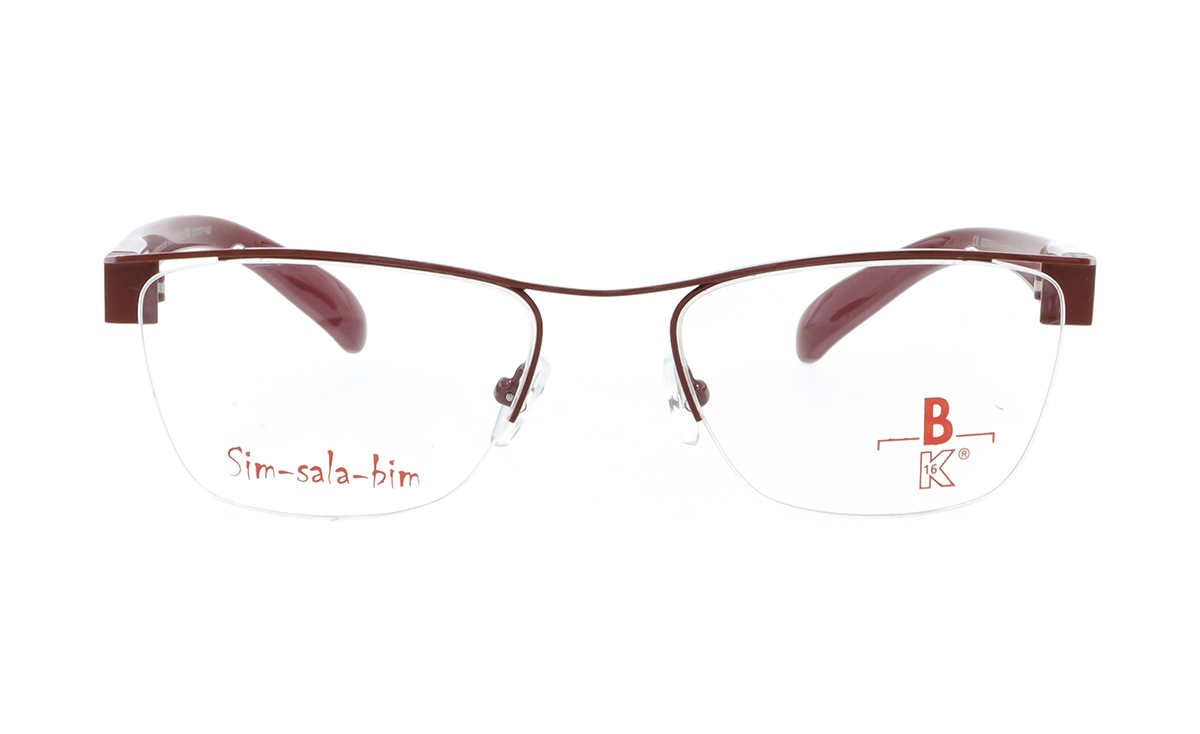 Brille Sim-sala-bim K7F033 rot glänzend |Brillenmann