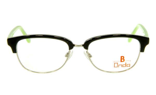 Brille Onda ON3008 oben schwarz matt