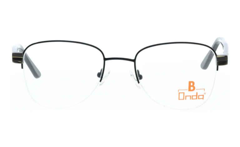Brille Onda ON3013 schwarz matt |Brillenmann