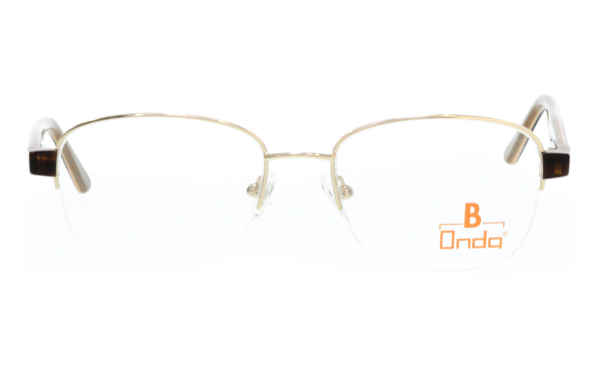 Brille Onda ON3015 gold glänzend | Brillenmann