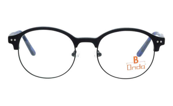 Brille Onda ON3016 schwarz matt | Brillenmann