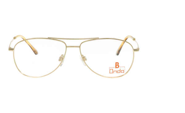 Brille Onda ON3019 gold glänzend | Brillenmann