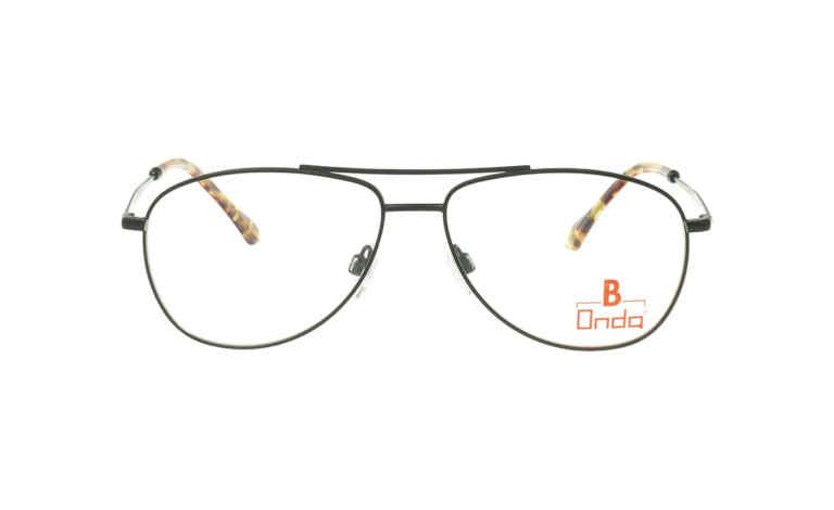 Brille Onda ON3019 schwarz glänzend  Brillenmann