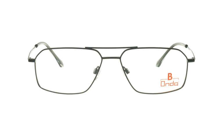 Brille Onda ON3021 schwarz glänzend |Brillenmann