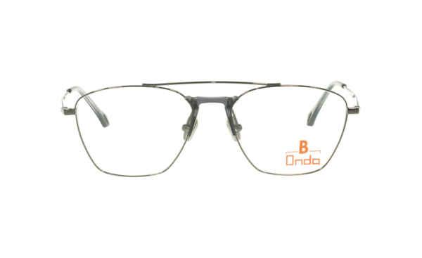 Brille Onda ON3028 Augenränder gun metalic glänzend |Brillenmann