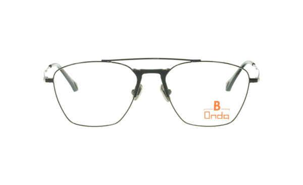 Brille Onda ON3028 Augenränder schwarz metalic glänzend |Brillenmann