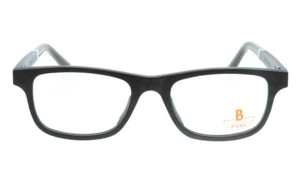 Brille P·A·S·S P465 schwarz gefärbtes  Ahornholz |Brillenmann