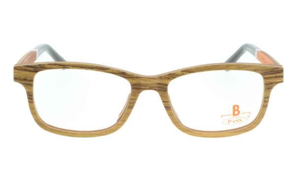 Brille P·A·S·S P467 braun holz |Brillenmann