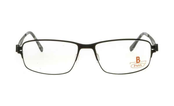 Brille P·A·S·S P476 schwarz gummiert matt  Brillenmann