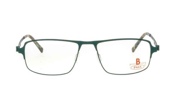 Brille P·A·S·S P477 grün gummiert matt |Brillenmann