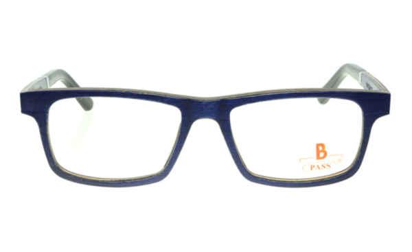 Brille P·A·S·S P481 blau matt |Brillenmann