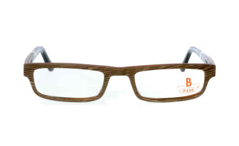 Brille P·A·S·S P505 Silbereiche grau |Brillenmann