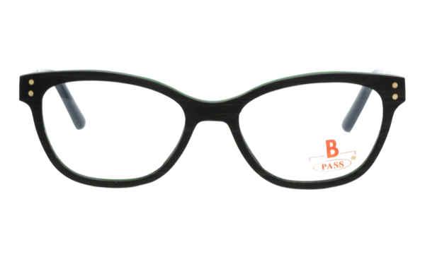 Brille P·A·S·S P508 Grenadill dunkelbraun  Brillenmann