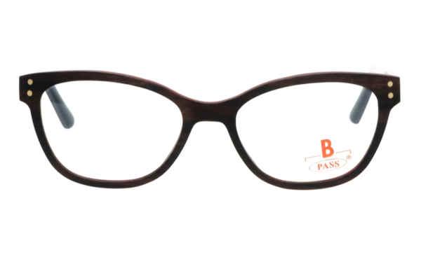 Brille P·A·S·S P508 Ebenholz dunkelbraun  Brillenmann