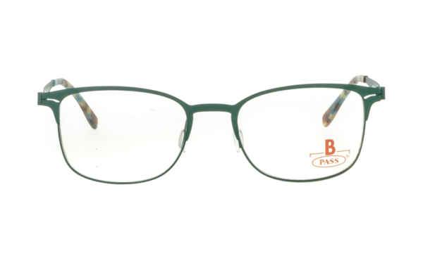Brille P·A·S·S P512 grün gummiert matt |Brillenmann