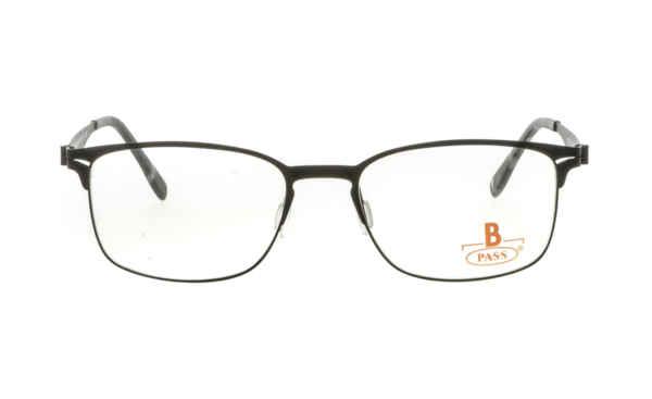 Brille P·A·S·S P514 schwarz gummiert matt |Brillenmann