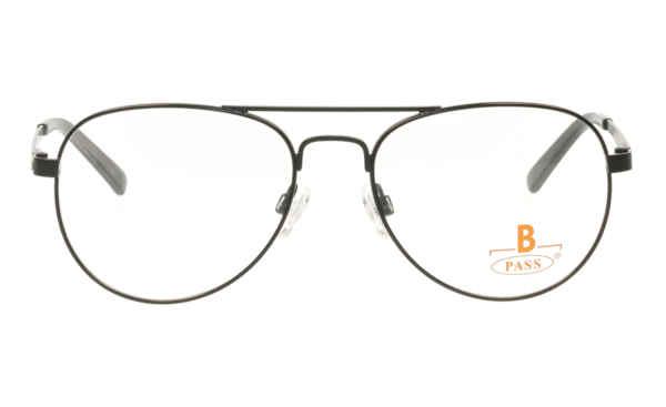 Brille P·A·S·S P556 schwarz glänzend |Brillenmann
