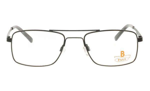 Brille P·A·S·S P557 schwarz matt  Brillenmann