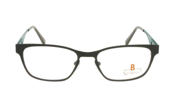 Brille Xclusiv XCF12 schwarz matt |Brillenmann