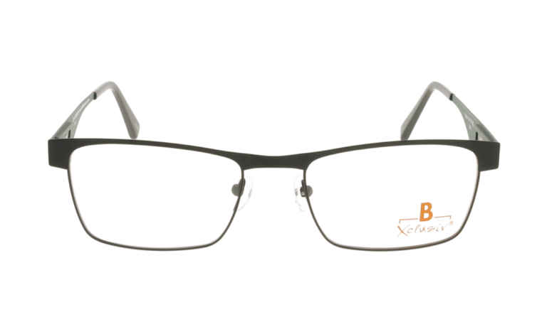 Brille Xclusiv XCF13 schwarz matt |Brillenmann