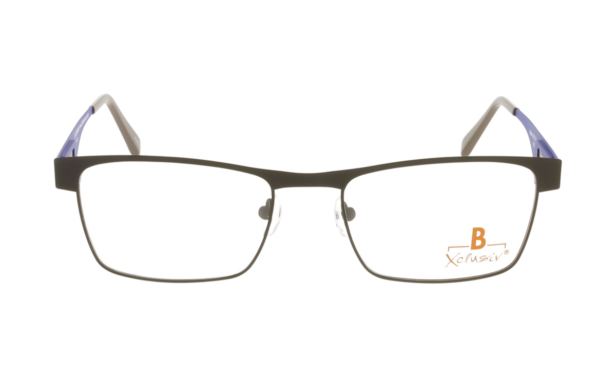 Brille Xclusiv XCF13 braun matt  Brillenmann