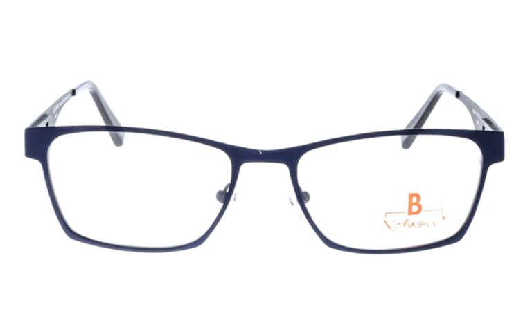 Brille Xclusiv XCF19 blau matt  Brillenmann
