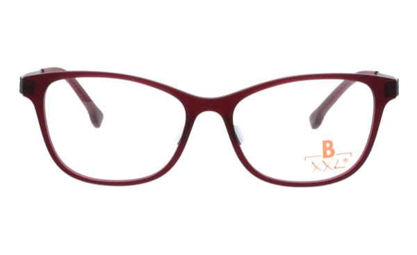 Brille XXL XXL1007 dunkel rot matt |Brillenmann