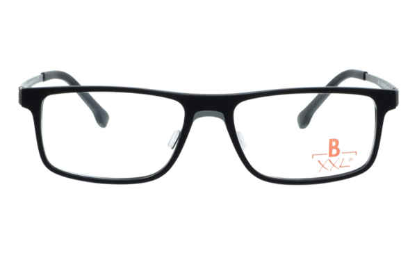 Brille XXL XXL1008 schwarz matt |Brillenmann