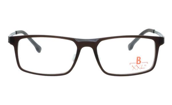 Brille XXL XXL1010 dunkelbraun matt |Brillenmann