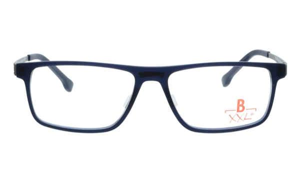 Brille XXL XXL1011 dunkelblau matt |Brillenmann