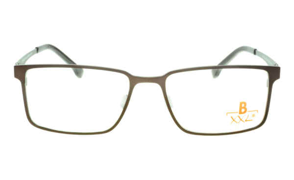 Brille XXL XXL1015 braun matt |Brillenmann